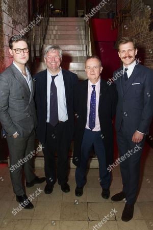 James Dutton (Roberts), Nick Newman (Author), Ian Hislop (Author) and George Kemp (Pearson)