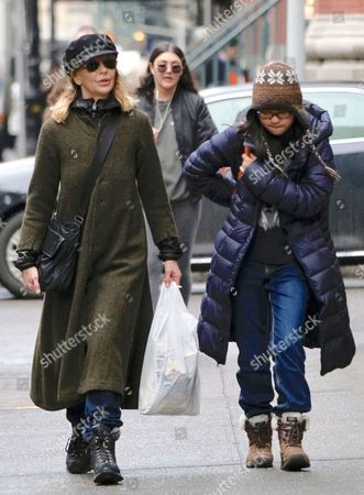 Editorial photo of Meg Ryan out and about, New York, USA - 27 Mar 2017