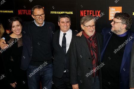 Diane Becker (Co-Producer), John Battsek (Producer), Adam Del Del (Netflix), Steven Spielberg, Guillermo Del Toro