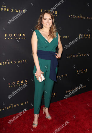 Editorial image of 'The Zookeeper's Wife' film premiere, Arrivals, Los Angeles, USA - 27 Mar 2017