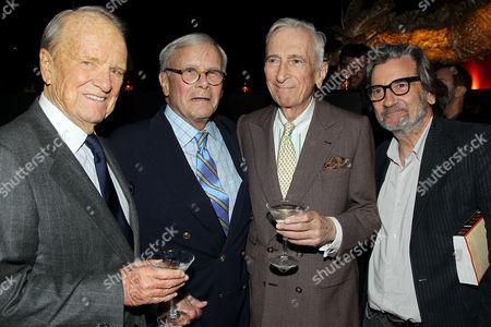 George Stevens Jr, Tom Brokaw, Gay Talese, Griffin Dunne