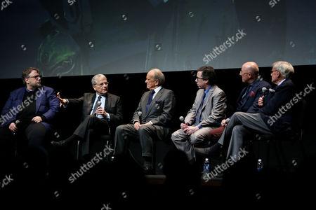 Guillermo Del Toro, Lawrence Kasdan, George Stevens Jr, Mark Harris (Author, Writer), Lawrence Kasdan, Tom Brokaw