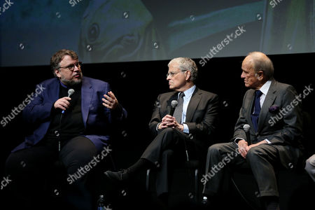 Guillermo Del Toro, Lawrence Kasdan, George Stevens Jr