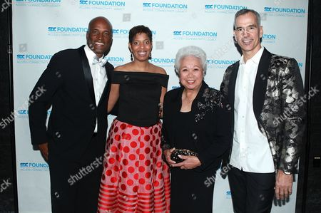 Editorial photo of SDC Foundation's 'Mr. Abbott' Award, New York, USA - 27 Mar 2017