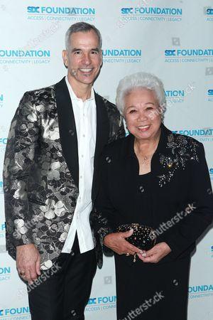 Jerry Mitchell and Joy Abbott