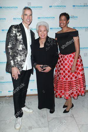 Jerry Mitchel, Joy Abbott and Lydia R. Diamond