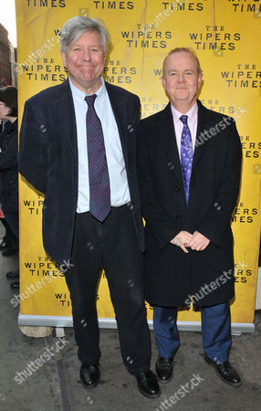 Stock Image of Nick Newman and Ian Hislop