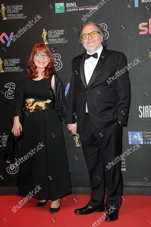 Editorial photo of David di Donatello Awards, Arrivals, Rome, Italy - 27 Mar 2017