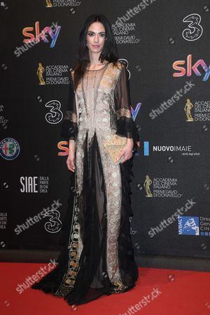 Editorial image of David di Donatello Awards, Arrivals, Rome, Italy - 27 Mar 2017