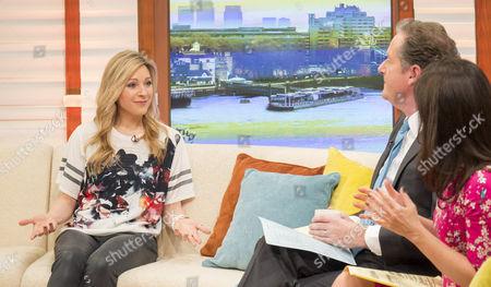 Naomi Wilkinson with Piers Morgan and Susanna Reid