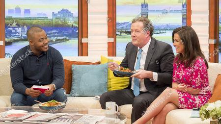 Selasi Gbormittah Piers Morgan, Susanna Reid