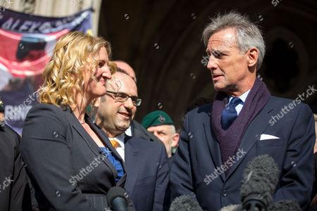 Claire Blackman and Richard Drax MP