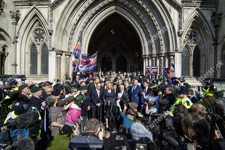 Editorial picture of Royal Marine Alexander Blackman Appeal Trial, London, UK - 28 Mar 2017.