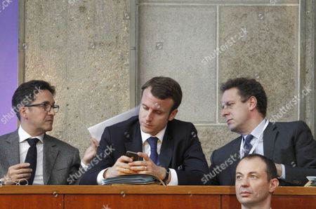 Editorial photo of Social Conference with Unions and Employers, Cese Council Headquarters, Paris, France - 09 Jul 2012