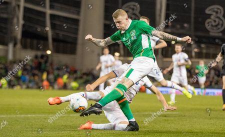 Editorial picture of Three International Friendly, Aviva Stadium, Dublin  - 28 Mar 2017