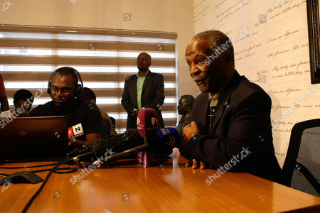 Editorial picture of Thabo Mbeki speaks about anti-apartheid activist Ahmed Kathrada's death, Johannesburg, South Africa - 28 Mar 2017