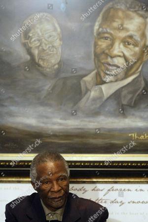 Stock Image of Thabo Mbeki