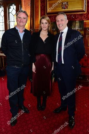 director Nick Hamm, Ian Paisley Jnr and Kinvara Balfour