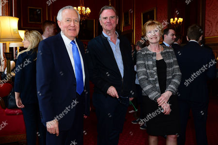 Lord Peter Hain, director Nick Hamm and Sylvia Hermon MP
