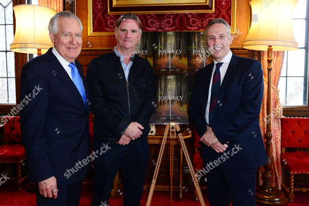Lord Peter Hain, director Nick Hamm and Ian Paisley Jnr