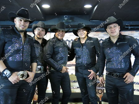 "From left, Rene Esparza, Jose Esparza, Lupe Esparza, Ramiro Delgado and Javier Cantu of the Mexican band Bronco pose in Mexico City during an interview on . Bronco presented its acoustic album ""Bronco Primera Fila"" and announced the dates of its upcoming tour. The album includes duos with Cristian Castro, Julieta Venegas and Leon Larregui, among others"