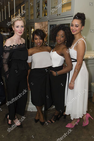 Alice Orr-Ewing (Mattie/Ruby), Dominique Moore (Lottie), Danielle Vitalis (Elvira) and Emma Naomi (Ensemble)