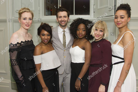 Alice Orr-Ewing (Mattie/Ruby), Dominique Moore (Lottie), David Tennant (Don Juan), Danielle Vitalis (Elvira), Eleanor Wyld (Dalia) and Emma Naomi (Ensemble)