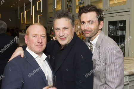 Adrian Scarborough (Stan), Patrick Marber (Author/Director) and David Tennant (Don Juan)