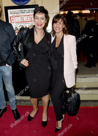 Angela Lonsdale and Denise Welch