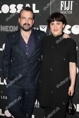 Editorial photo of FIJI Water Presents the New York Premiere of Neon's 'Colossal', USA - 28 Mar 2017