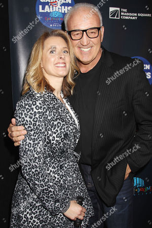 Gerry Cooney with wife