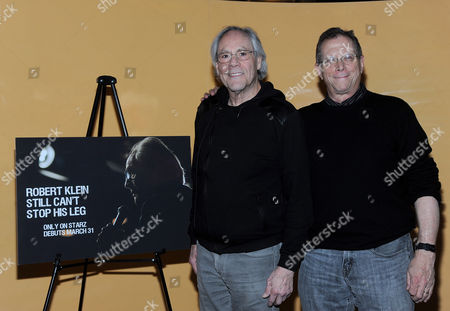 Stock Picture of Robert Klein and Marshall Fine