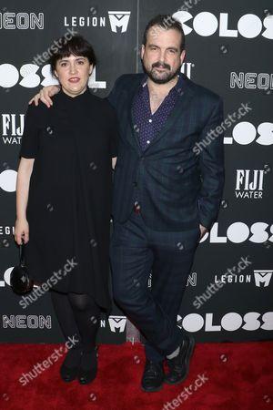 Nahikari Ipina (Producer) and Nacho Vigalondo (Director)