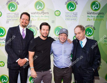 Editorial photo of Wahlburgers Grand opening, Bally's, Las Vegas, USA - 28 Mar 2017