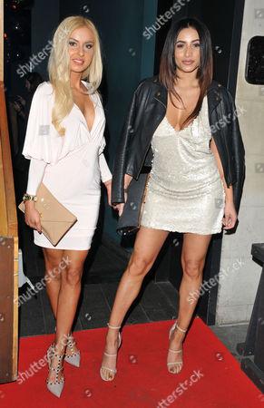 Holly Rickwood and Kayleigh Morris