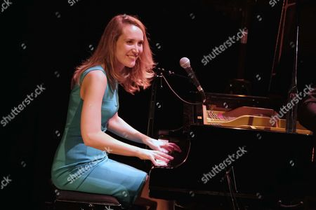 Australian jazz singer Sarah McKenzie performs live at Le Cafe de la Danse