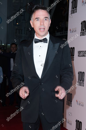 London England 8th November 2016: Charlie Creed-miles at the '100 Streets' Premiere at the Bfi Southbank in London England On the 8th November 2016