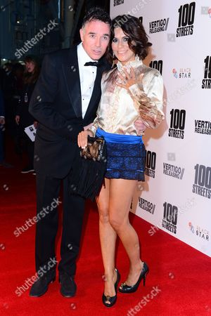London England 8th November 2016: Charlie Creed Miles and Sachi Loggia at the A Hundred Streets Uk Film Premiere at Bfi Southbank in London On the 8th November 2016
