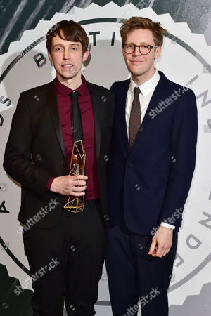 Peter Middleton and James Spinney Collect the Award For Best British Documentary at the British Independent Film Awards (bifa) at Old Billingsgate London On the 4th December 2016