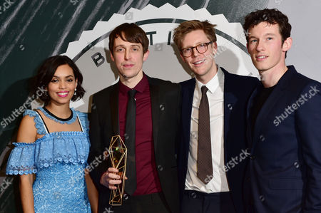 Peter Middleton and James Spinney Collect the Award For Best British Documentary Presented by Georgina Campbell and Callum Turner at the British Independent Film Awards (bifa) at Old Billingsgate London On the 4th December 2016