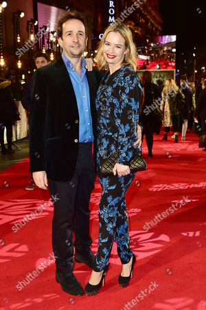 Matt Hermer and Marissa Hermer at the Collateral Beauty - European Premiere at Vue Leicester Square in London Uk 15th December 2016