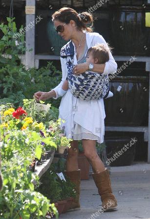 Brooke Burke and son Shaya Braven