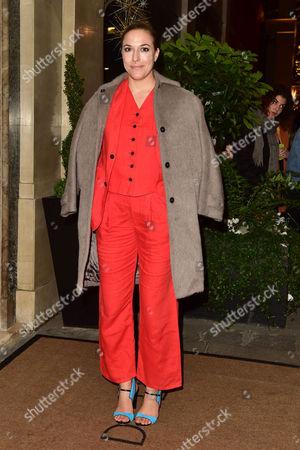 Editorial picture of Evening Standard Film Awards  - 08 Dec 2016