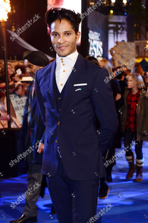 London England 15th November 2016: Fernando Montano at the 'Fantastic Beasts and where to Find Them' - European Premiere at the Cineworld Imax and Odeon Leicester Square London England On the 15th November 2016
