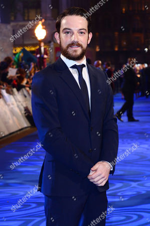 London England 15th November 2016: Kevin Guthrie at the 'Fantastic Beasts and where to Find Them' - European Premiere at the Cineworld Imax and Odeon Leicester Square London England On the 15th November 2016