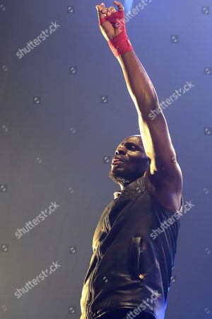 Editorial photo of Kery James in concert, Paris, France - 15 Mar 2017