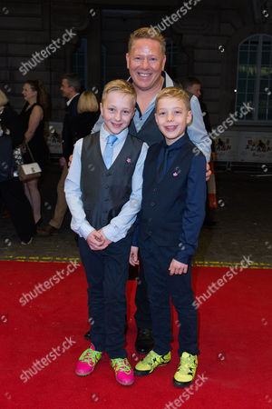 London England 23rd November 2016: Author St John Greene at the Mum's List Premiere at the Curzon Mayfair in London On the 23rd November 2016