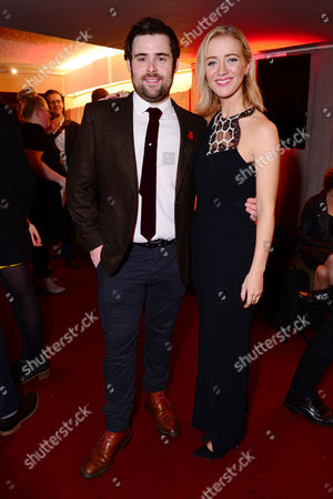 London England 14th November 2016: David Fynn and Florence Andrews at the School of Rock Press Night at New London Theatre in London On the 14th November 2016