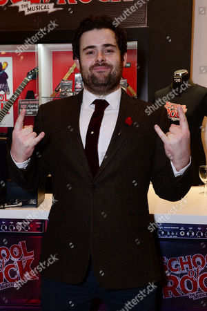 London England 14th November 2016: David Fynn at the School of Rock Press Night at New London Theatre in London On the 14th November 2016