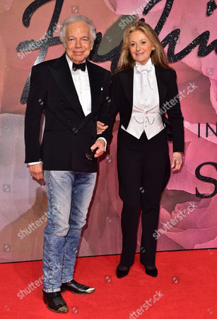 Ralph Lauren and Ricky Anne Loew Beer Attending the Fashion Awards 2016 at the Royal Albert Hall 5th December 2016 London Uk